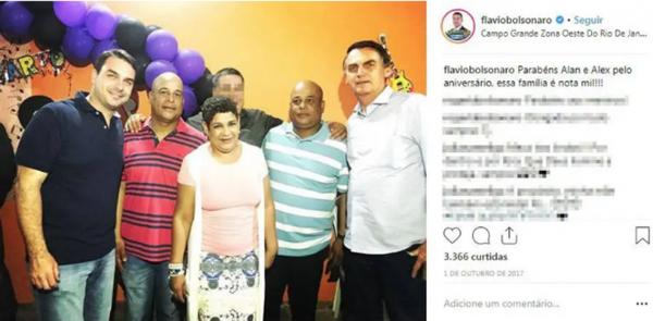 Instragram Flávio Bolsonaro